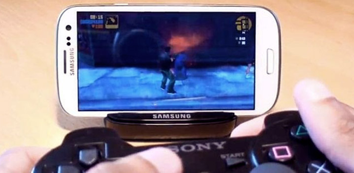 PS3 Games on Smartphone